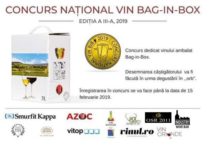 concurs bag in box 2019