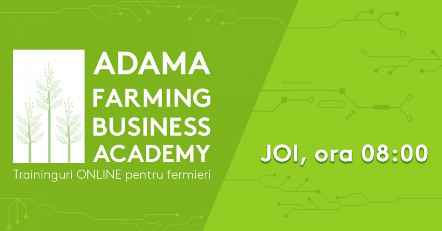 Training-uri online pentru fermieri, ADAMA Farming Business Academy